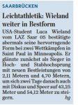 SZ vom 23.04.16 Luca Wieland