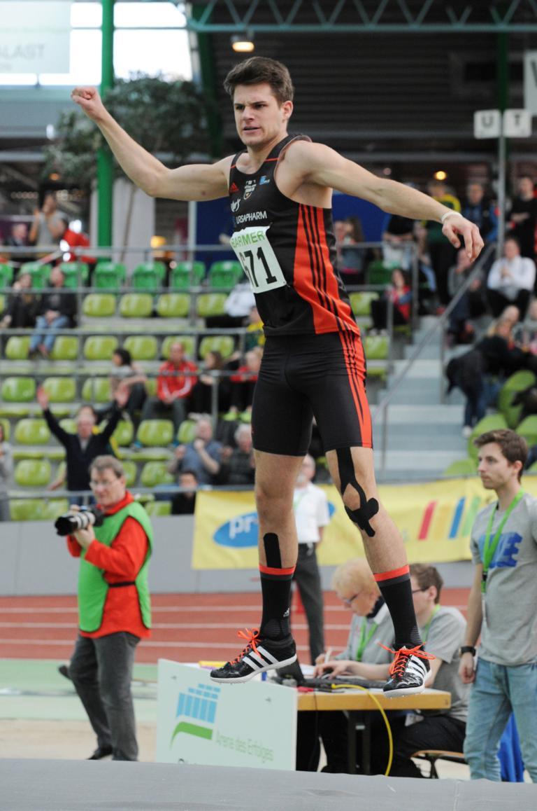 Ferdinand Bopp LAZ SAAR 05 Saarbrücken in Sindelfingen 2,06 m 3. Versuch