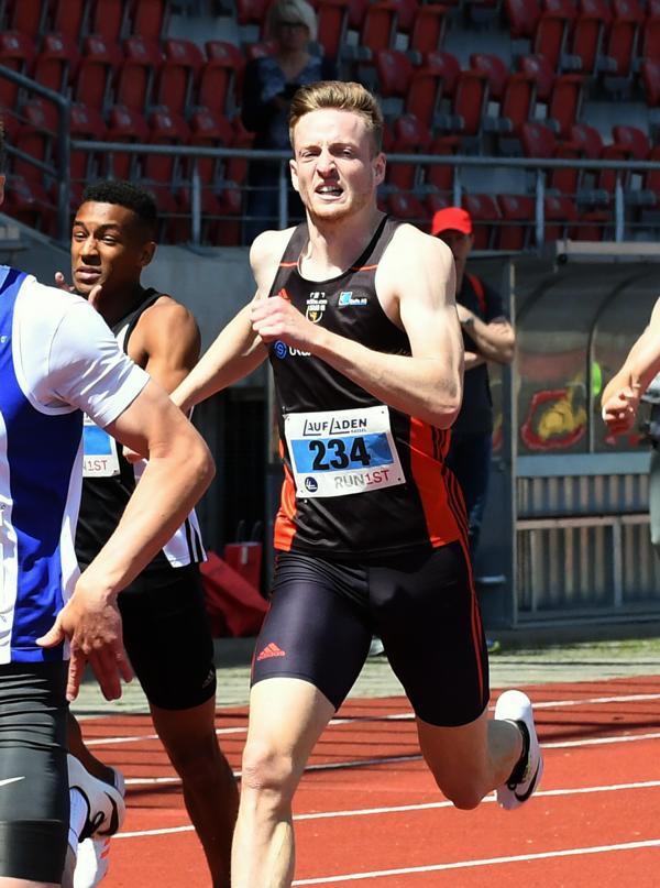 Robert Hind, 400 m Zeitlauf, DHM Kassel 2017